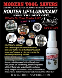 ROUTER LIFT LUBRICANT