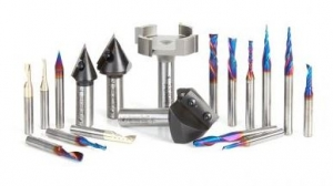 Amana Tool AMS-222 18-Pc Ultimate Signmaking CNC Router Bit Collection, 1/4 & 1/2 Inch Shank