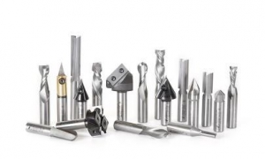 Amana Tool AMS-139 18-Pc Advanced General Purpose CNC Router Bit Collection