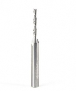 Amana Tool 51731 Solid Carbide Spiral Finisher 1//4 Dia x 7//8 x 1//4 Shank Down-Cut Router