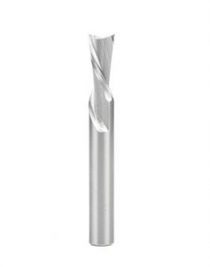Amana Tool 46439 Solid Carbide Spiral Plunge 3/8 D x 7/8 CH x 3/8 SHK x 3 Inch Long Down-Cut Router Bit