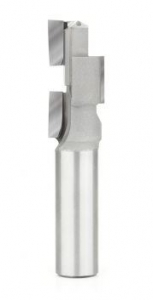 Amana Tool 51356 CNC Carbide Tipped Compression 3 Blade Stagger 1 D x 2 CH x 3/4 SHK x 4-3/8 Inch Long Router Bit