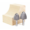 Amana Carbide Tipped Large Radius Ovolo Router Bits
