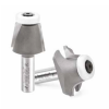 Amana Carbide Tipped Undermount Bowl Router Bits With Ultra Glide Ball Bearing Guide